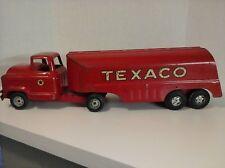 Vintage 1950's Buddy L Toys Moline Ill Chevrolet Texaco Tanker Truck