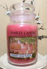 New Yankee Candle CHERRY LEMONADE Large Jar 22 Oz Housewarming Gift !FREE SHIP!