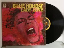 BILLIE HOLIDAY - LADY LOVE original Pressage US 1969