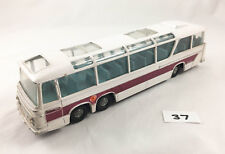 DINKY TOYS # 954 VEGA MAJOR LUXURY COACH DIECAST WHITE/MAROON 1971-76 EXCELLENT