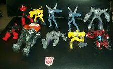 Transformers action figure lot 12 toys kids transformer movie dvd megatron cool