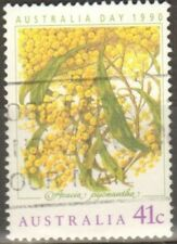 australia 1990 Yt au1139 Golden Wattle fu.