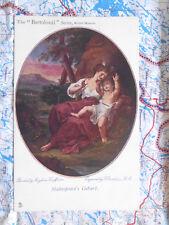 Shakespeare´s Geburt Bartolozzi Gemälde Kunstwerk Postkarte Ansichtskarte 3011