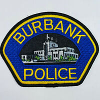 Burbank Police California Patch (B4)