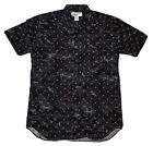 Supreme x CDG Comme Des Garcons Digital Camo Men's Button Up Collar Shirt Size M