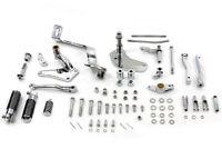 Chrome Forward Control Kit fits Harley-Davidson