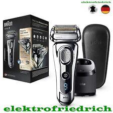 BRAUN Series 9 Rasierer 9297cc Premium Edition mit Reinigungsstation + Lederetui