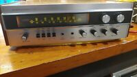 Sherwood S-7100 vintage Stereo Receiver serviced clean with wood case