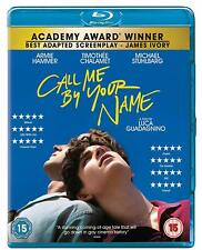 CALL ME BY YOUR NAME di Luca Guadagnino BLURAY in Inglese NEW .cp
