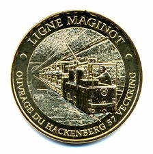 57 VECKRING Ligne Maginot 2, Le train, 2015, Monnaie de Paris