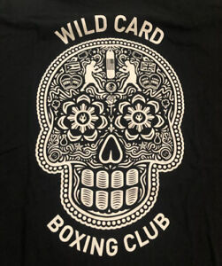 "Wild Card Boxing Club ""Day of the Dead/Los Angeles"" T Shirt, XL, Freddie Roach"