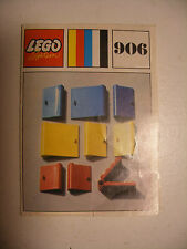 70' RARE anciene notice ORIGINALE instruction manual Lego System Legoland n°906