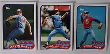 1989 Topps Traded Montreal Expos Team Set of 3 Baseball Cards