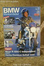 Mo Sonderheft BMW Motorräder Nr.3 R 1100 S-Cup R 1200 C