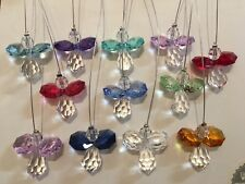 HANGING SWAROVSKI CRYSTAL SUNCATCHER GUARDIAN ANGEL