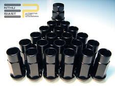 Steel Tuner JDM Lug Nuts Stahl Radmuttern M12 x 1.5 Schwarz