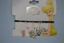 Disney Tinker Bell (3) Charms for Rubber Band Jewelry Rainbow Loom Bands- NEW
