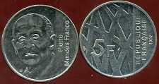 5 francs  1992  MENDES FRANCE