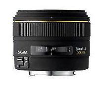 Sigma EX DC DC 30mm f/1.4 HSM DC Lens