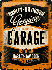 Harley Davidson Garage Blechschild 30x40 cm 23188
