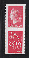 FRANCE AUTOADHESIF N°  139 ( 4109 ) P139, Paire V1 ** MNH,Marianne de Cheffer,TB