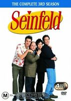 Seinfeld The Complete 3rd Season BRAND NEW DVD 4 Disc Box Set FREE SHIPPING