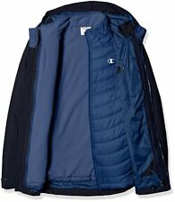 Champion Men's Technical Ripstop Puffy 3-In-1 Winter Jacket Navy XX-Large