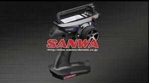 Sanwa MT-44 2.4G 4ch 4-Channel 2.4GHz Radio System w/ RX-482 Receiver