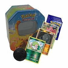 50 x Pokemon Cards Bundle + POKEMON TIN & COIN TCG INCLUDES SHINYS & RARE CARDS