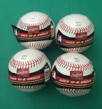 """Rawlings Official League Crolb Baseball 9"""" 5Oz ,Lot of (4)"""