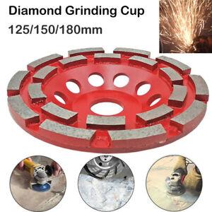 125mm/150mm/180mm Disque Meule Diamant à Meuler Béton Meuleuse Poncage Surfacage