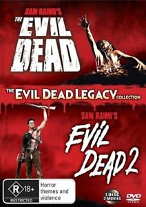 Evil Dead Legacy Collection DVD