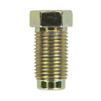 Sealey BN10100LM Brake Pipe/Fuel Nut M10 x 1mm Long Male Pack of 25