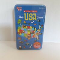 Scholastic The USA Game University Games Ages 6 and up 2 to 4 Players New