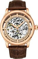 Stuhrling Winchester 3933.4 Automatic Self Wind Mens Watch Genuine Leather Strap