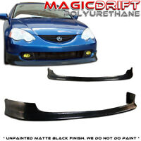 Acura RSX DC5 ITR JDM Front Bumper PU Lip Type R For 02 03 04 Urethane PU