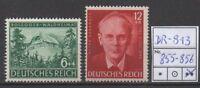Deutsches Reich, Michel Nr. 855-856 (Rosegger) tadellos postfrisch.