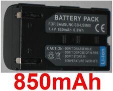 Batterie 850mAh type SB-LSM80 Pour Samsung VP-D351