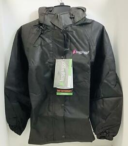 Frogg Toggs Women's Pro Action Rain Jacket~DriPore Gen2~Black~ Women's Small