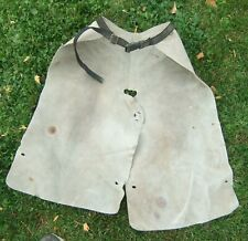 Vntg Used Weaver Suede Leather Farrier Horse Shoeing Apron Chaps Repaired Buckle