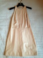Authentic  Phillip Lim Mini Leather and silk-chiffon  Dress  size 8, S