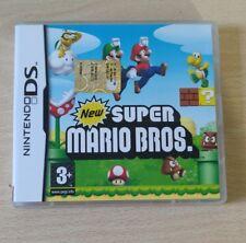 NEW SUPER MARIO BROS DS ITALIANO NINTENDO DS-3DS-2DS COME NUOVO  COMPLETO ITA