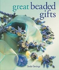 BK190f GREAT BEADED GIFTS by Linda Gettings Soft Cover Book New in Shrink Wrap