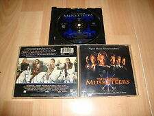 THE THREE MUSKETEERS MUSIC CD THE ORIGINAL MOTION PICTURE SOUNDTRACK