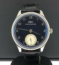 IWC Portugieser 44mm Stainless Steel Manual Wind Panda Dial Ref. IW545404