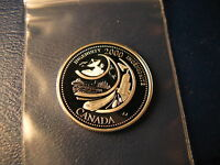 Canada 2000 Ingenuity Theme Mint Silver 25 Cent Coin Celebratng New Millennium.