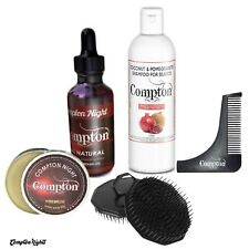PREMIUM BEARD SHAMPOO,BALM AND OIL PLUS BEARD TRIMMER AND BRUSH SET