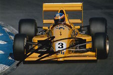 MARTIN DONNELLY HAND SIGNED CAMEL LOTUS F1 6X4 PHOTO 11.