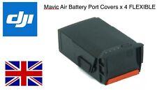 Dji Mavic Air Battery Port Covers FLEXIBLE X 4 in RED