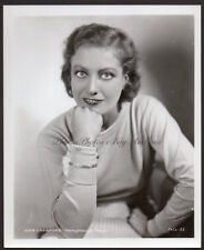 JOAN CRAWFORD early portrait RARE PHOTO from ORIG NEG sexy actress
